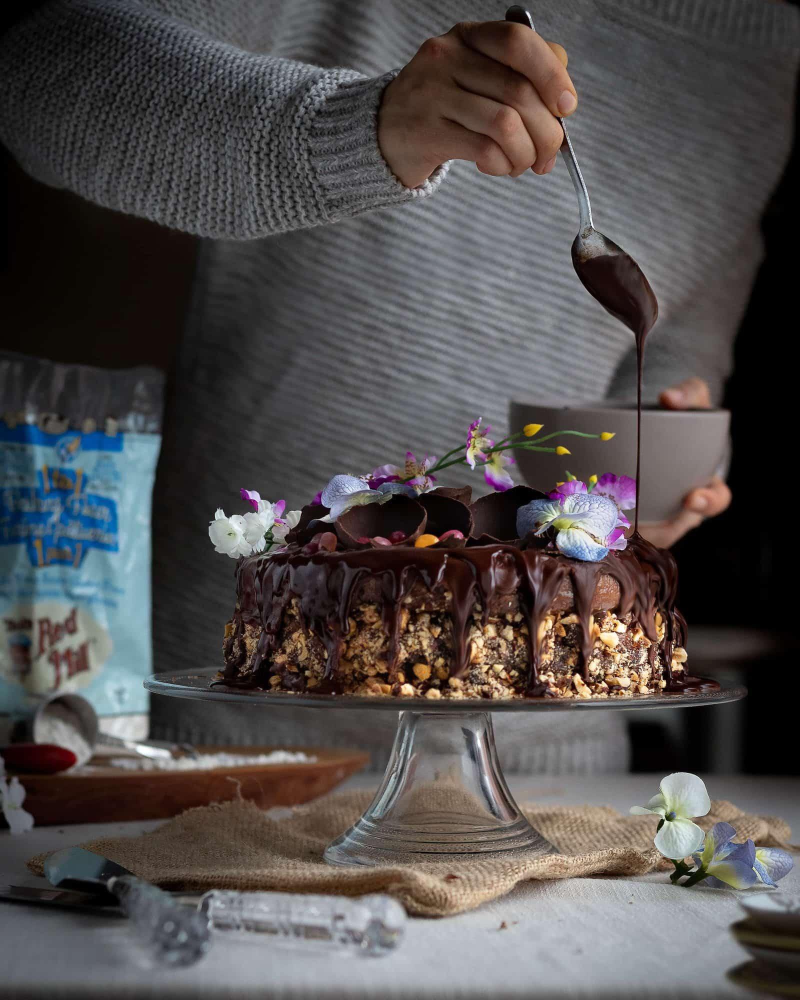 Hazelnut cake (1 of 1)