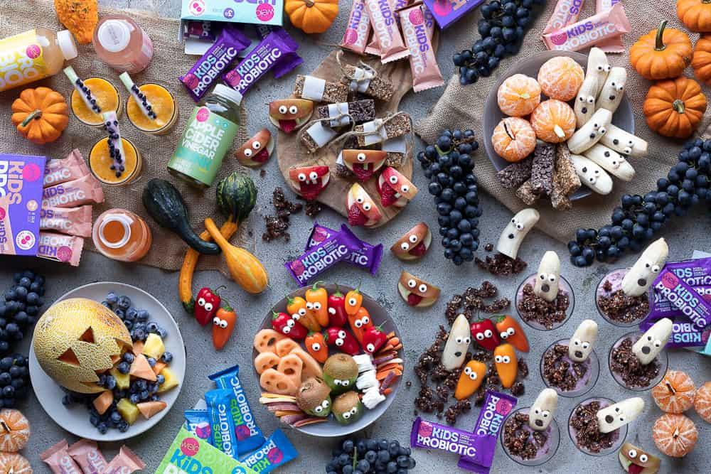 welo kids healthy halloween snacks