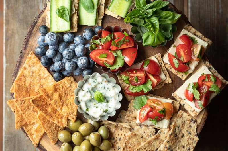 Easy snack platter to wow your family and friends