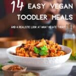 14 easy vegan toddler recipes plus a look at what he eats in a typical day