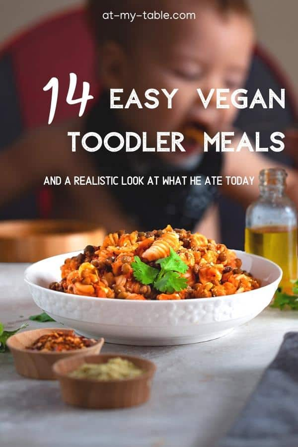 14 easy vegan toddler recipes plus a look at what he eats in a day
